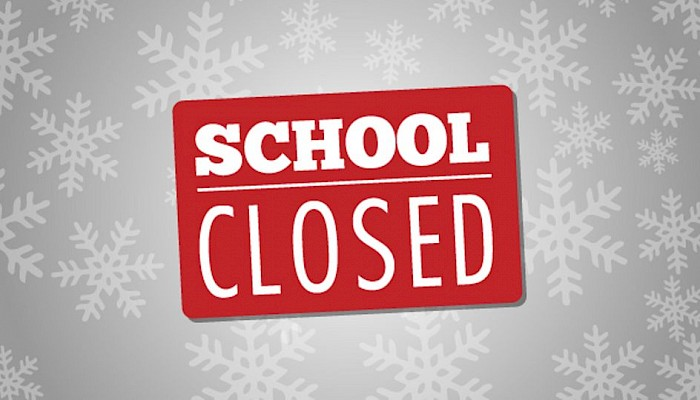 School CLOSED 25 January 2021 due to Weather